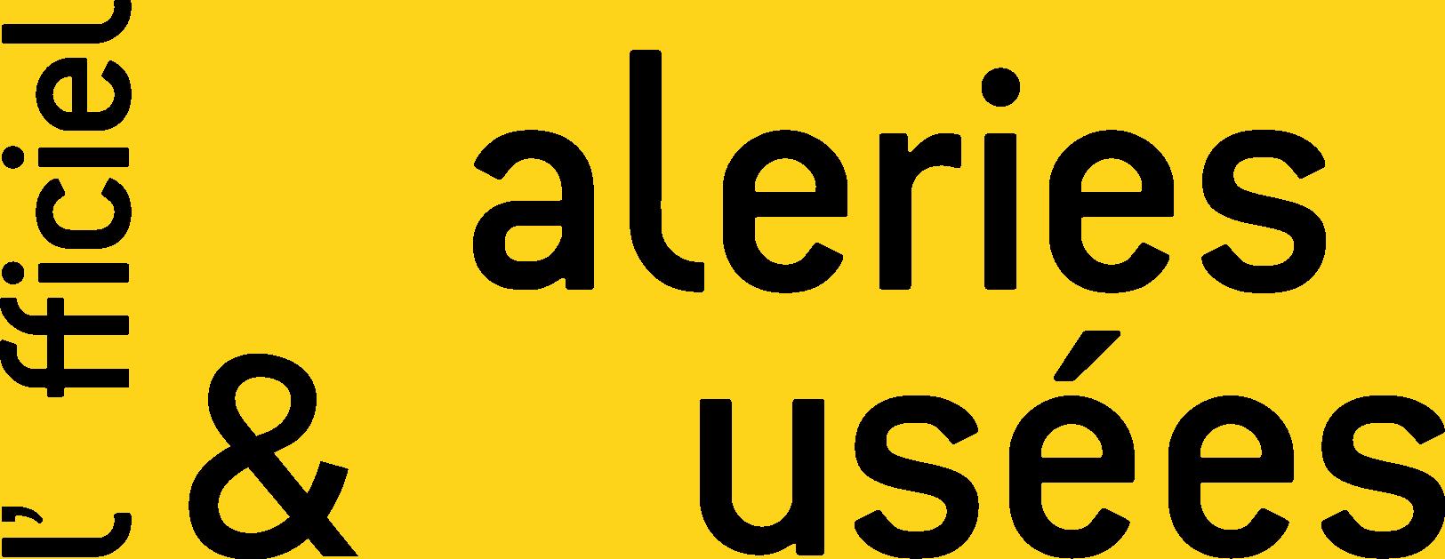 Logo Officiel Galeries et musées