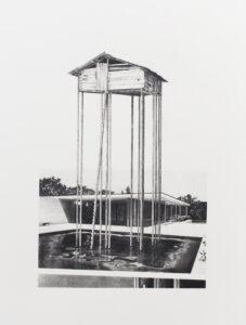 Daniel Otero Torres, Más cerca de las estrellas, 2018, Crayon sur papier, 46 x 61 cm