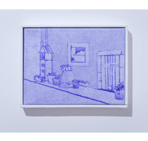Antoine Marquis, Sans titre, 2020, 18x24cm, pigment sur toile