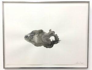 Gaëlle Chotard, Sans Titre, 2018, encre de chine sur papier, 22,5 x 30,5 cm