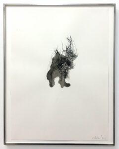 Gaëlle Chotard, Sans Titre, 2018, encre de chine sur papier, 40 x 30 cm