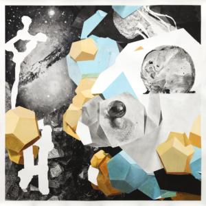 Thomas Leon, A Crystal World 02, 2020, Fusain et pastel sec sur papier, 120 x 120 cm ©Thomas LEON