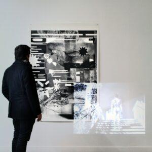Thomas Leon, Ecdysis, 2018, Installation vidéo ©Thomas LEON