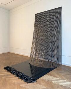 Vanessa Enriquez, Variations on Line n.8, 2020, sideview