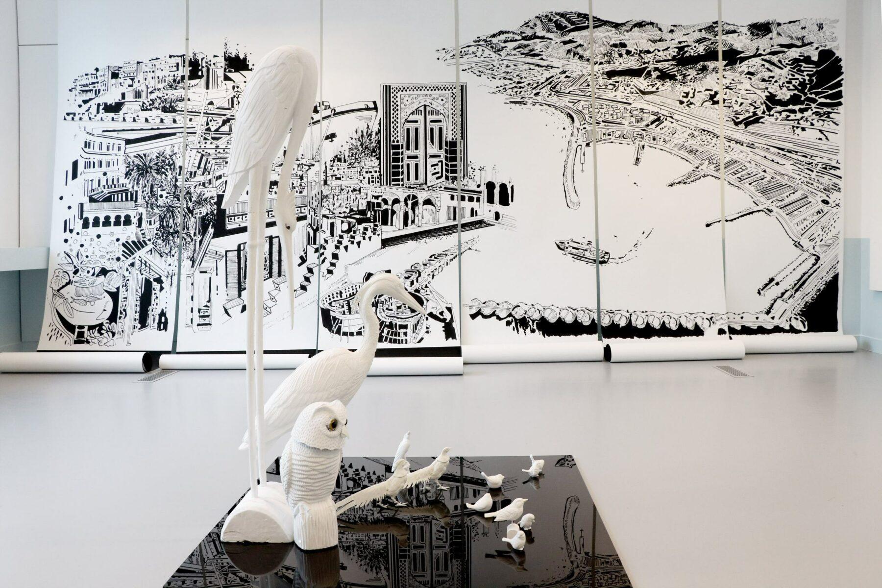 Chourouk Hriech , Et des échelles pour les oiseaux, 2020
