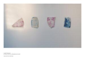 Pooya Abbasian, Impressions sur céramique, Vue de l'installation Le Radeau Des Cimes, Villa Belleville, 2020