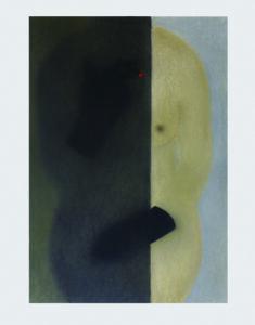 Shuo Hao, sans alibi, 42 x 59 cm, pastel, 2020