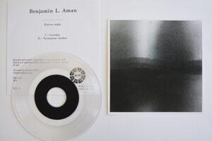 Benjamin L. Aman, Eyeless night, édition limitée, gravure vinyle