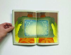 Gaspard Laurent, Bonsoir Fortnite p.18-19, 2020, Bande-dessinée risographiée, 17 x 23 cm