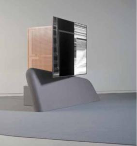 Claire Malrieux, DreamBank V1. Vue installation Biennale Némo, Autonomie zéro