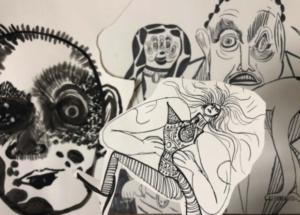 Eléonore Geissler. Recherche et story boarding pour le lm d'animation « Le syndrome du Domesticatus».