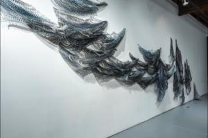 Jaanika Peerna, Cold Love, wall installation