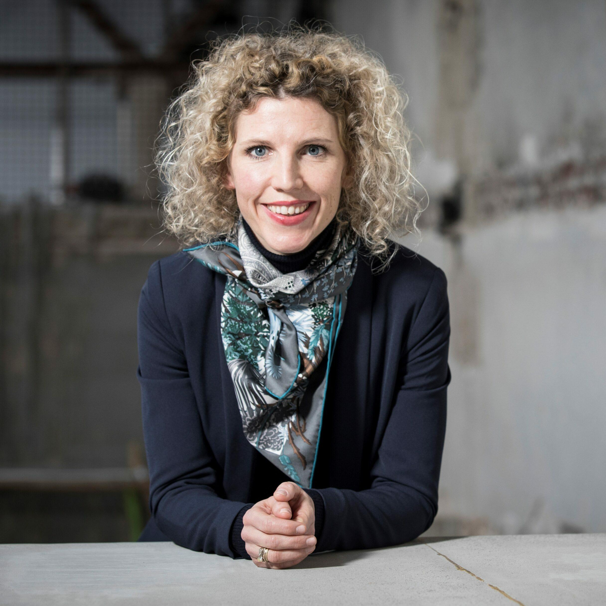 Portrait de Daria de Beauvais, commissaire d'expositions du Palais de Tokyo. Paris le 15/01/2018 Photo François Bouchon / Le Figaro