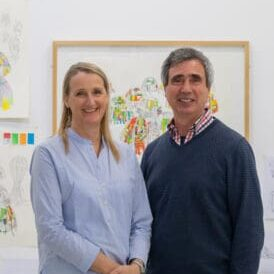 Portrait Lucy + Jorge Orta
