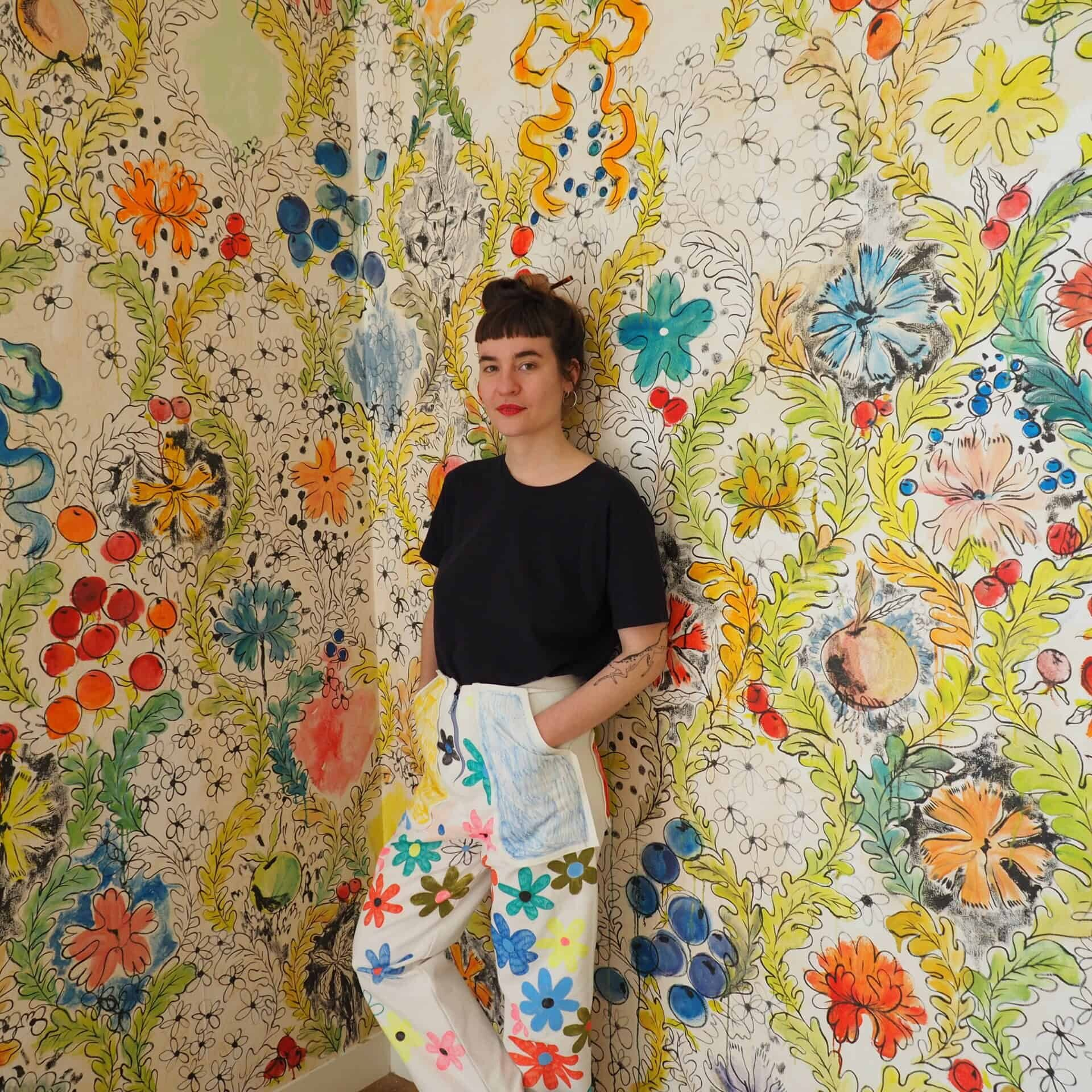 Portrait, Camille Chastang, DRAWING FACTORY, atelier 45
