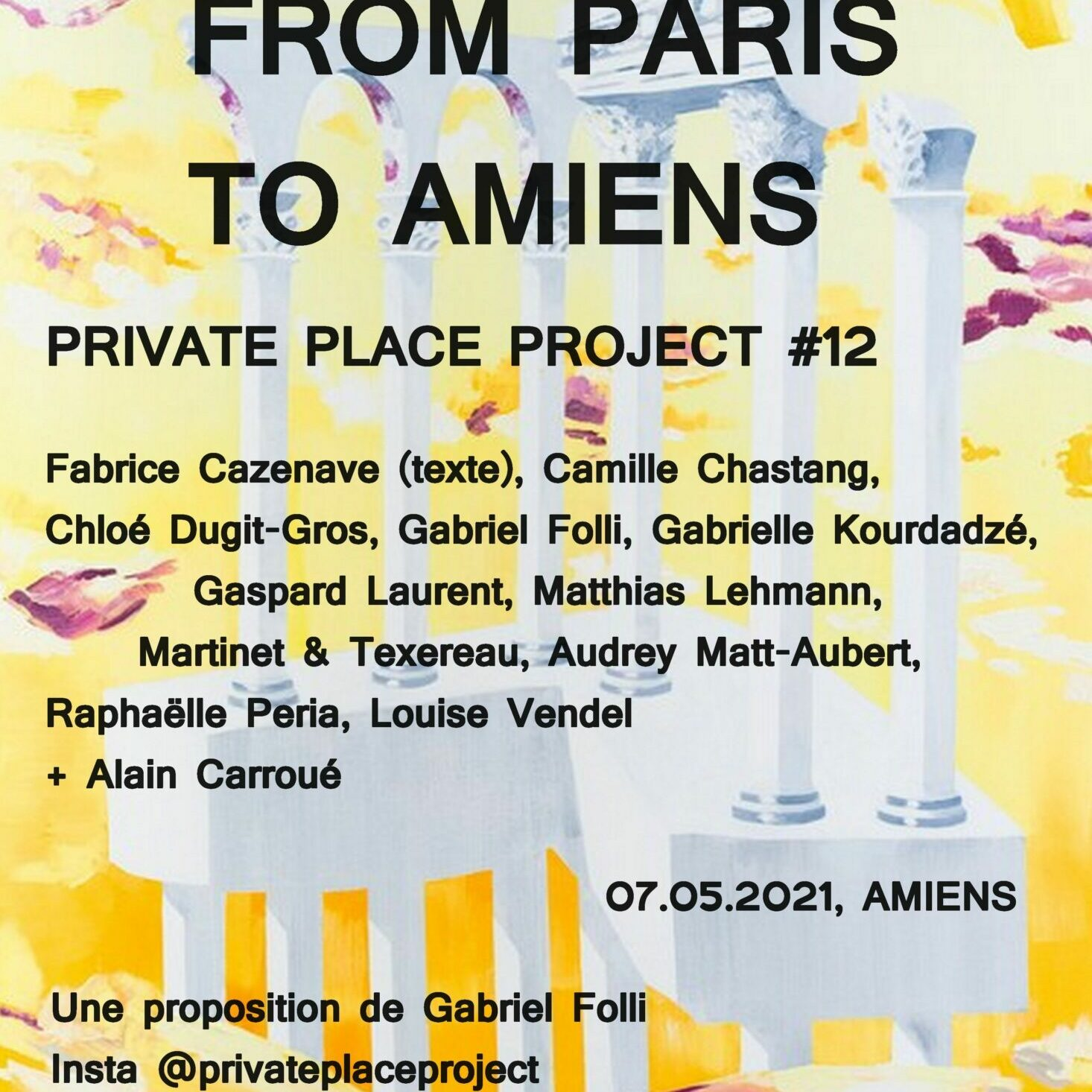 flyer Private place project